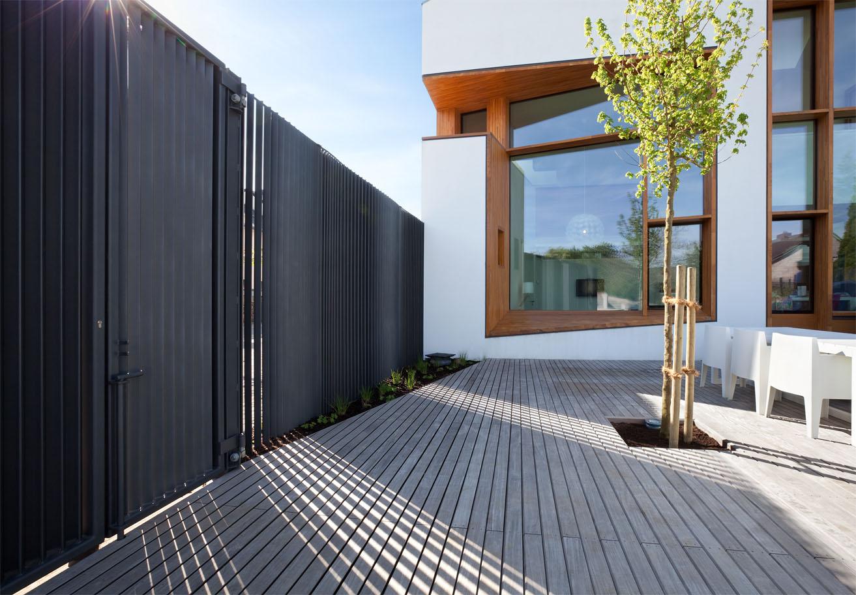 cloture facade maison. Black Bedroom Furniture Sets. Home Design Ideas