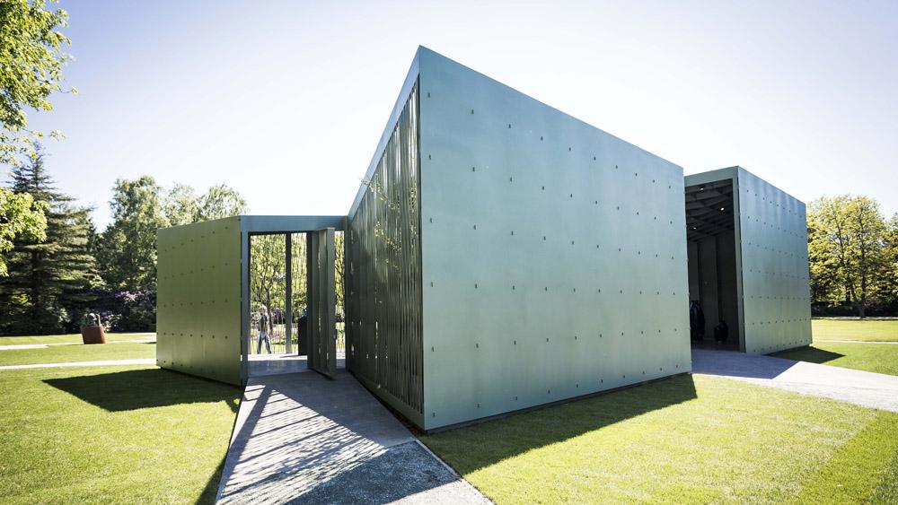 Middelheimmuseum paviljoen 39 het huis 39 infosteel - Huis roestvrij staal ...