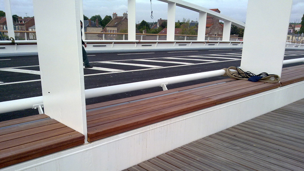 Pont neuf over de oise compi gne infosteel for Neuf construction