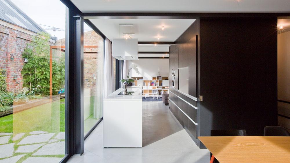 Architectuuratelier met woning infosteel for Staalbouw woningen