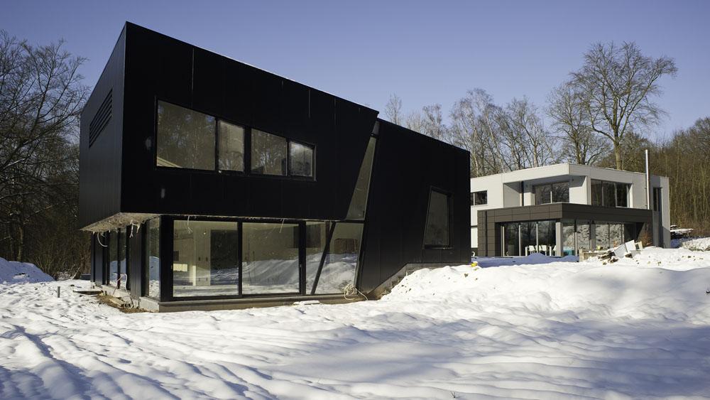 Twee stalen woningen twee broers architecten infosteel for Staalbouw woningen