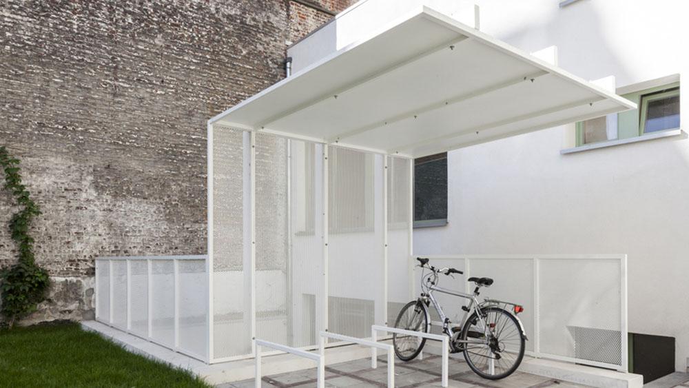 Trap en luifel cbai infosteel for Structure metallique architecture