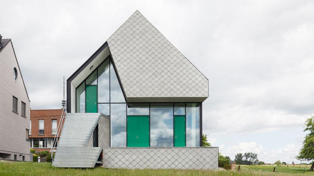 Une maison passive ossature m tallique infosteel for Structure metallique architecture