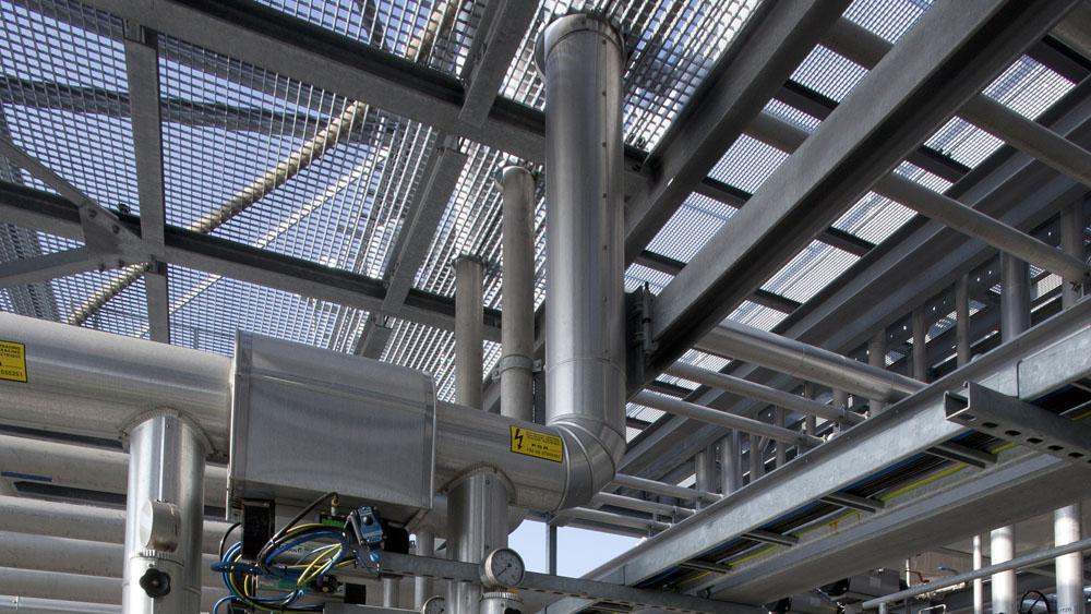 Jetty pour vopak infosteel for Structure metallique architecture
