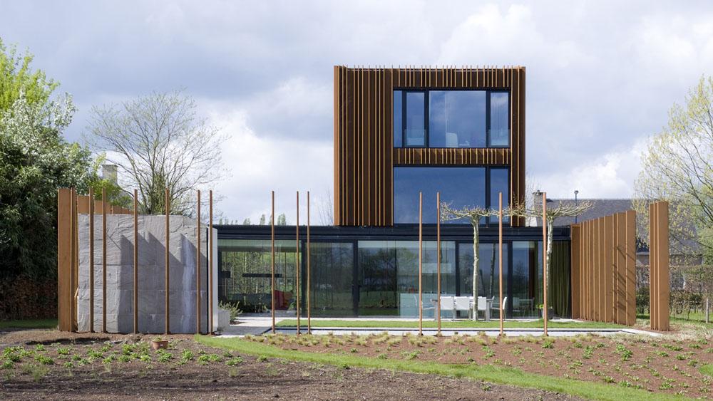 Een woontoren uit weervast staal infosteel for Staalbouw woningen