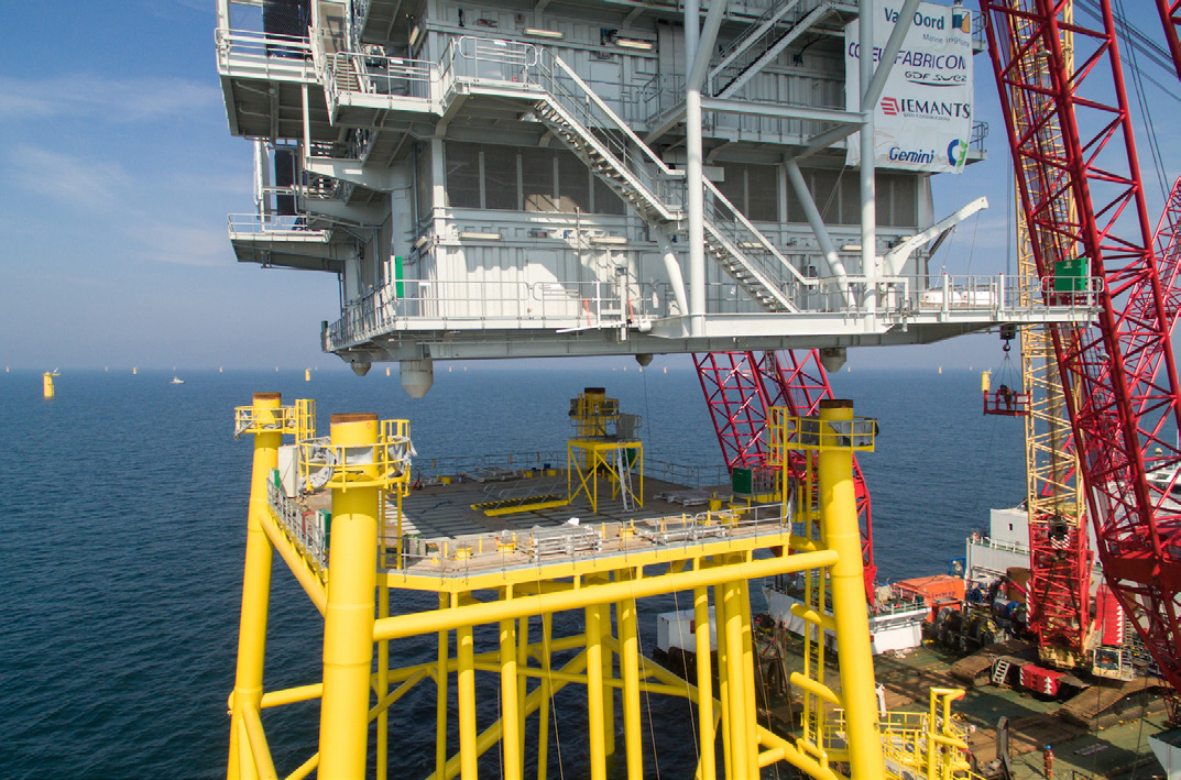 Substations, Gemini Offshore Windpark (NL)