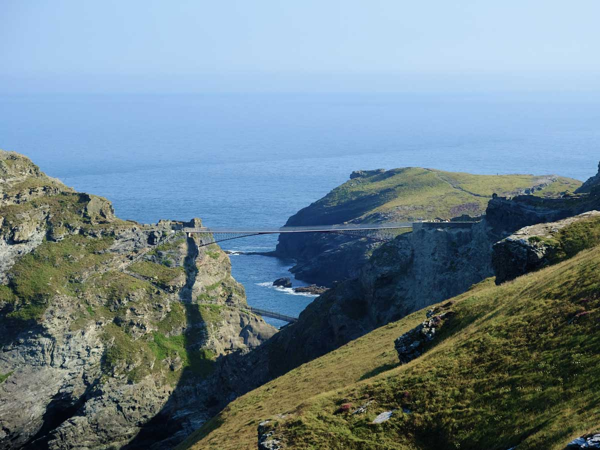 Tintagel Castle Footbridge 02