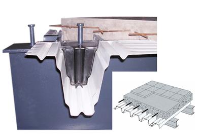 Staalplaat betonvloer