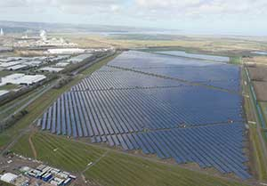 Photo : British solar renewables